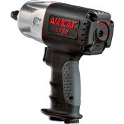 "AIRCAT® 1150 1/2"" Black Composite Twin Hammer Impact Wrench"