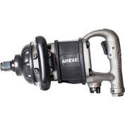 "AIRCAT® 1900-A-1 1"" Super-Duty Stubbie Impact Wrench Aluminum"