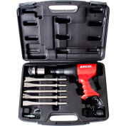 AIRCAT® 5100 Air Hammer Short Barrel W/ 5-Piece Chisel Blow Mold Kit