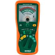 "Extech 380320 Analog Insulation Tester, Green/Orange, 0 to 600V, 7.9""L"