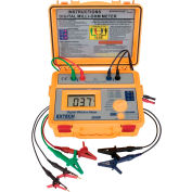 Extech 380580-NIST Battery Powered Milliohm Meter, 0.1 NIST Certified
