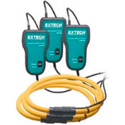 "Extech 382098 Test Leads, Proprietary, Plastic, 24""L"