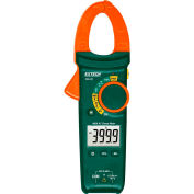 Extech MA440 AC Clamp Meter with Non-Contact Voltage Detector, 400A, Green/Orange