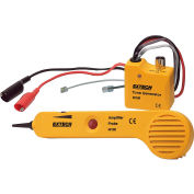 Extech 40180 Tone Generator & Amplifier Probe Kit, Yellow, Case Included