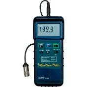 "Extech 407860-NIST Heavy Duty Vibration Meter, Vibration Sensor, 7.1""L NIST Certified"