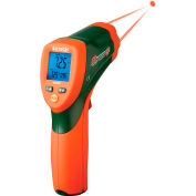 Extech 42509 Dual Laser IR Thermometer W/Color Alert, 1 Data Memory Recall Count, 0.39lbs.
