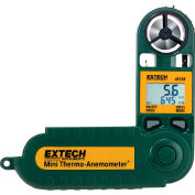 Extech 45158 Mini Thermo-Anemometer & Humidity, Green, Battery