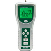 Extech 475044-SD High Capacity Force Gauge/Datalogger, Silver/Green, RS-232 W/ SD Memory Card