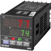 Extech 48VFL11 Temperature PID Controller W/One Relay Output, Black, Digital