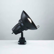 Electrix 7288 Direct Mount Swivel Head Work Incandescent Light, 120V