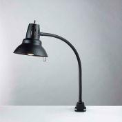 "Electrix 7300 Vertical Incandescent Gooseneck Lamp, Direct Mount, 22"" Reach, 120V, 100W"