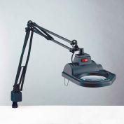 "Electrix 7426-5D  Halogen Magnifier, 45"" Reach, Clamp-On 120V, 100W"