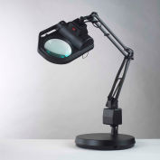 """Electrix 7428-3D 3-Diopter Halogen SLX Power Series Magnifier W/Weighted Base, 30"""" Reach, 120V, 100W"""