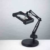 "Electrix 7452 3-Diopter Wide View Illuminated Magnifier W/Weighed Base, 30"" Reach, 120V, 13x2W"