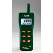 Extech CO250 Portable Indoor Air Quality CO2 Meter, Software, Cable, 4 AA batteries, Carrying Case