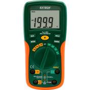 Extech EX205T-NIST Digital MultiMeter, Orange/Green NIST Certified