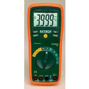 Extech EX420-NIST Professional MultiMeter, Orange/Green NIST Certified