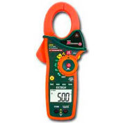 Extech EX820 True RMS AC Clamp Meter W/IR Infrared Thermometer, Orange/Green 1000 Amp