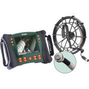 Extech HDV650-30G HD Videoscope Plumbing Kit W/30 m Probe, Green/Orange, Case Included