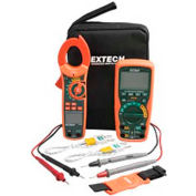 Extech MA620-K Industrial DMM/Clamp Meter Test Kit, Orange/Green