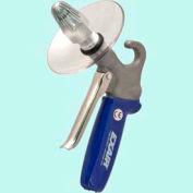 Exair 1260-CS,  Soft Grip Safety Air Gun W/1106 Super Air Nozzle and Chip Shield, Zinc