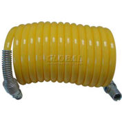 "Guardair 38X50B03 3/8"" x 50' Recoil Air Hose Nylon Yellow"