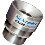 Exair Adjustable Air Amplifier Only, 1-1/4 In., Stainless Steel