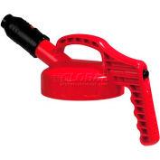 Oil Safe Stumpy Pour Spout Lid, Red, 100508