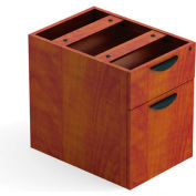 Offices To Go™ 2 Drawer Hanging Pedestal in Dark Cherry - Executive Modular Furniture
