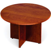 """Offices To Go™ Conference Table - Round - 48"""" - Dark Cherry"""
