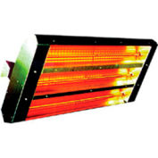 TPI 90° 2-Lamp Symmetrical Infrared Heater 22290TH208V - 3200W 208V Brown