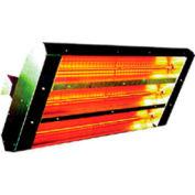 TPI 30° 3-Lamp Symmetrical Infrared Heater 22330THSS277V - 4800W 277V Silver