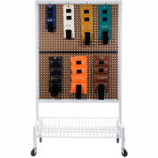 """Double-Sided Mobile Weight Rack For Cuff® Weights, Includes (22) 6"""" Hooks, 500 lb. Capacity"""
