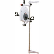 CanDo® Magneciser® Pedal Exerciser with Height Adjustable Wall Mount Bracket