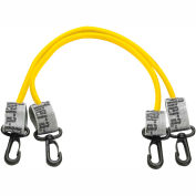 """Thera-Band™ Exercise Station Accessory, 24"""" Yellow Tubing with Connectors, 1 Pair"""