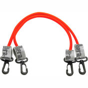 """Thera-Band™ Exercise Station Accessory, 12"""" Red Tubing with Connectors, 1 Pair"""