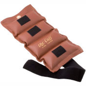 Cuff® Deluxe Wrist and Ankle Weight, 10 lb., Brown