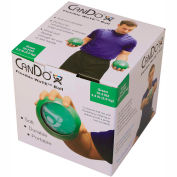 CanDo® WaTE™ Hand-held Weighted Ball, Green, 2 kg/4.4 lb.