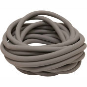 Sup-R Tubing™ Latex Free Exercise Tubing, Silver, 25' Roll/Bag