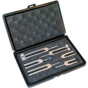 Baseline® 6-Piece Tuning Fork Set with Carrying Case