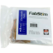 """FabStim® Self-Adhesive TENS Electrodes, Square 2"""" (5.1 cm), 4/Pack"""