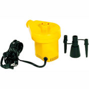 Electric Inflator and Deflator Pump For Inflatable Exercise Balls and Rolls