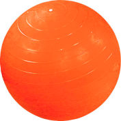 "CanDo® Inflatable Exercise Ball, Orange, 120 cm (48"")"