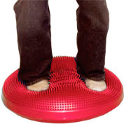 """CanDo® Inflatable Vestibular Seating/Standing Disc, 60 cm (24""""), Red"""