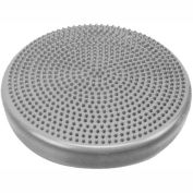 "CanDo® Inflatable Vestibular Seating/Standing Disc, 35 cm (14""), Silver"