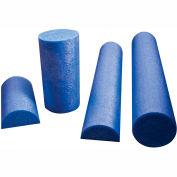 """CanDo® Blue PE Foam Roller, Round, 6"""" Dia. x 36""""L"""