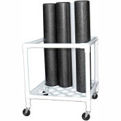 "CanDo® Foam Roller Upright Storage Rack - 24""L x 34""W x 30""H"