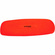 """CanDo® Plush Exercise Mat, 72"""" x 24"""" x 0.6"""", Red"""