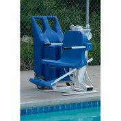 Aqua Creek Portable Pro Pool Lift with Weight Plates, 400 lbs. Capacity