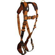 FallTech® 7080LX ComforTech® 1-D Full Body Harness, 1 Back D-ring, Size L/XL